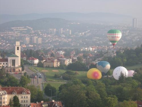 Romantický let balonem Brno
