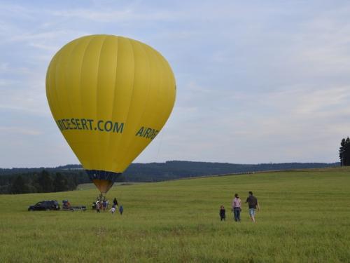Let balonem Karlovy Vary