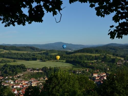 Let balonem Český Krumlov