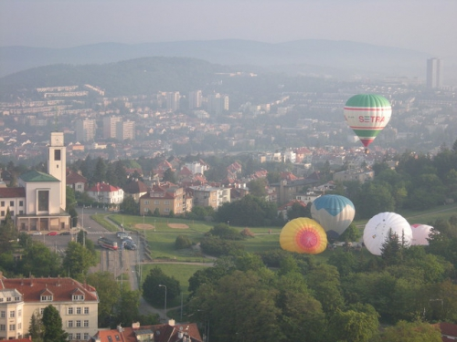 Let balonem Brno