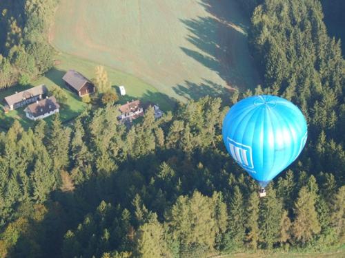 Let balonem Telč