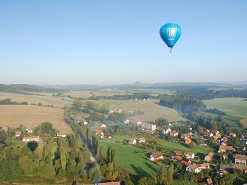 Romantický let balonem Hradec Králové