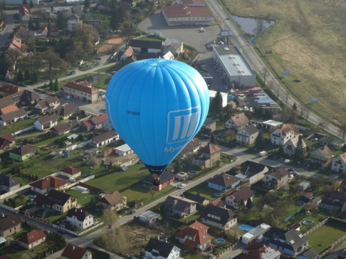 Let balonem Plzeň