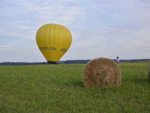 Romantický let balonem Tábor