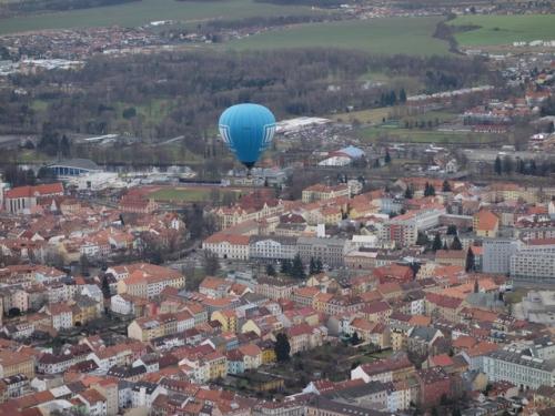 Romantický let balónem České Budějovice