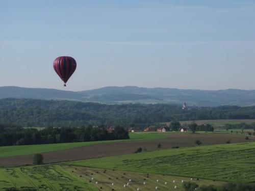 Romantický let balonem Konopiště